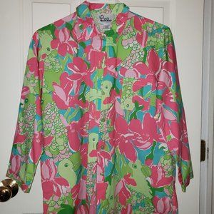 Lilly Pulitzer Button Down Shirt - Size L